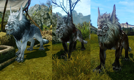 Wolf for MMO Games with Pets List